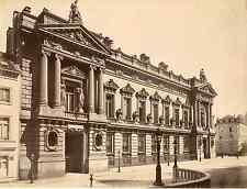 Belgique, Bruxelles, Banque nationale de Belgique, Façade Rue du Bois sauvage  V