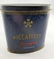 Vintage Retro Empty Piccadilly Juniors Virginia Cigarette Tin - Collectable
