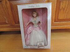 Mattel Barbie Doll Birthday Wishes Pink Sparkling Gown 21128 NRFB 1st (ba033)