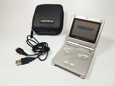 Nintendo Game Boy Advance SP Silver/Platinum Handheld System AGS-001 Charger