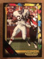Kevin Mack 1991 Wild Card 20 Stripe Cleveland Browns Clemson Tigers #55