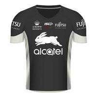 South Sydney Rabbitohs 2017 Training Tee Shirt Sizes Small - Large Black/Bone