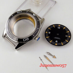 Fit ETA 2836 MIYOTA 8215 41mm Automatic Watch Case Dial Hand Glass Backcover
