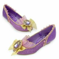 NEW Disney Store Princess RAPUNZEL Wedge Heel Costume Shoes 11/12 NWT Tangled