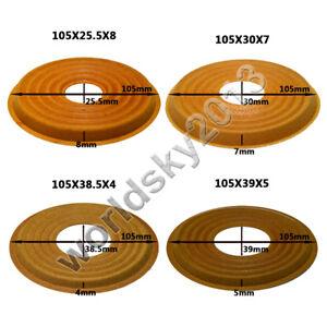 105x25.5/105x30/105x38.5/105x39mm Speaker Spider Damper Bass Woofer Repair Parts