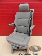 VW T5 Drehsitz Multivan Sitze Sitz Leder Glattleder Artgrey swivel seat isofix