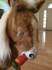 FurReal Butterscotch pony.  Interactive 3ft tall horse & carrot.  *No Shipping*