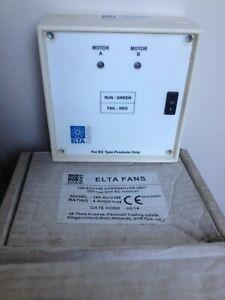 ELTA Fans 149-ACO14E Changeover Unit 149-aco14e 4 amps
