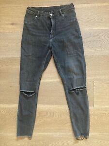 Jeans donna Cheap Monday nero tg. W30 L31