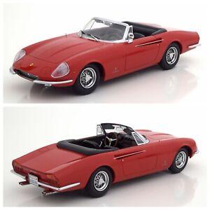 1/18 KK Scale Ferrari 365 California Spyder 1966 Red Neuf Livraison Domicile