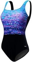 NWT TYR WOMEN'S ARCTIC SCOOP NECK CONTROL FIT TAQARB7A ONE PIECE SWIMSUIT 12