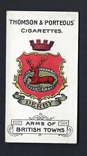 THOMSON & PORTEOUS - ARMS OF BRITISH TOWNS - #31 DERBY