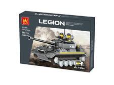 Army Heavy Tank Military Building Blocks Bricks- Wange