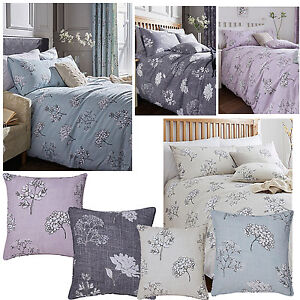 Tiffany Floral Print Bedding Set (Single Double or King Size) - Choice of Colour