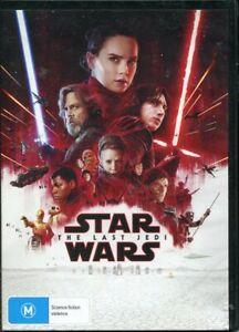 Star Wars The Last Jedi DVD NEW Region 4