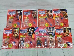 Lot of 8 Vintage 1991 Mattel American Gladiators Action Figure