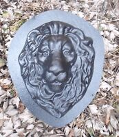 Concrete cement plaster  mold lion ABS plastic mold