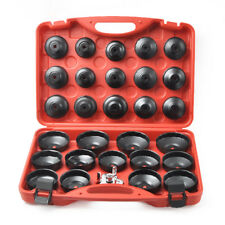 30Pc Oil Filter Cap Wrench Cup Socket Tool Set For Mercede/BMW/VW/Audi/Volvo Etc