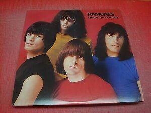 RAMONES 'End Of The Century' U.S. 180 Gram LP  NM Audio