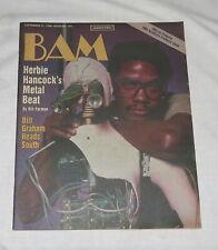 BAM The California Music Magazine 21 Sep 1984 No 191 Herbie Hancock's Metal Beat