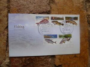 2003 AUSTRALIAN  FISHING  FIRST DAY COVER SWANSEA TAS FISH POSTMARK FDI