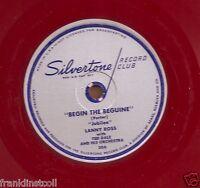 Lanny Ross on 78 rpm Silvertone 30: Begin the Beguine/Strange Music