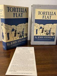 TORTILLA FLAT John Steinbeck Ruth Gannet The First Edition Library Facsimile FEL