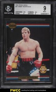 1991 Ringlords Tommy Morrison #9 BGS 9 MINT