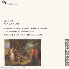Handel: Orlando / Hogwood, Bowman, Auger - CD L'oiseau Lyre