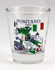 POSITANO ITALY AMALFI COAST GREAT ITALIAN CITIES COLLECTION SHOT GLASS SHOTGLASS
