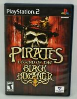 Pirates: Legend of the Black Buccaneer (Sony PlayStation 2, 2006) PS2 Complete