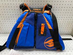 Hyperlite Paddle Life Vest Adult Medium Large w/ Safety Whistle USCG Approved