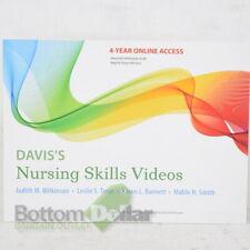 F. A. Davis Company Nursing Skills Videos 4-Year Online Access Card