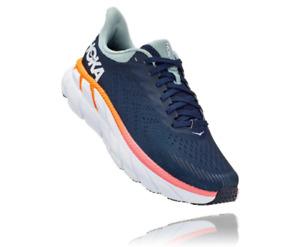 Hoka Womens Clifton 7 Road Running Shoe - Soft and Light