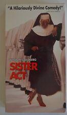 Whoopi Goldberg - Sister Act (VHS Movie, 1992)  PG