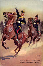 Military Art by Ernest Ibbetson. Royal Field Artillery  # C 106 by Gale & Polden