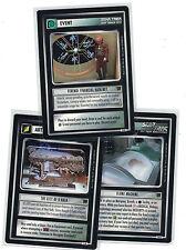 Star Trek CCG Decipher 1st Holodeck Adventures: 3x Rare freie Auswahl Lot