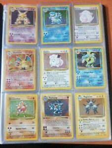 Pokemon - Base Set Unlimited - Individual Cards - Pick From List! Updated 14/05