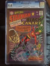 BRAVE AND BOLD #61 CGC NM 9.4; OW-W; Starman/Black Canary!