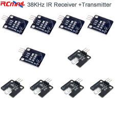 5pcs 38khz Infrared Ir Receiver Sensor Transmitter Module For Arduino Smart Car