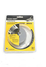 "Klein Tools 3-1/4'' (83 mm) Bi-Metal Hole Saw 31552 ""MADE IN THE USA"""