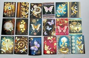 Hunkydory Midnight Butterflies Butterfly Mirri Topper Decks x 18