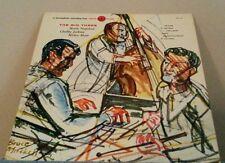 JAZZ VINYL LP CHUBBY JACKSON,M.SHEEN,M.NAPOLEON,THE BIG THREE 1950'S PRESS VG+