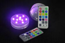 RGB LED Aquarium Licht Unterwasserlicht Lampe Leuchte + Fernbedienungen