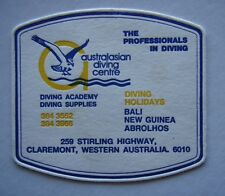 AUSTRALASIAN DIVING CENTRE 259 STIRLING HWY CALREMONT WA 3843552 COASTER