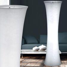 Design Standing Lamp White Textile Fabric Hall Floor Lamp Living Bedroom Hallway