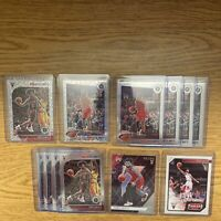 Coby White Rookie LOT 2019-20 NBA Hoops Premium Stock Silver Laser #204 Bulls Rc