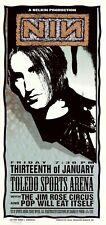 MINT & SIGNED Nine Inch Nails 1995 Toledo Arminski Poster
