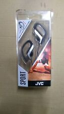 JVC HA-EB75 SPORTS ADJUSTABLE EAR CLIP EARPHONES HEADPHONES - GREEN