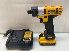 Dewalt DCF610 12V Cordless Screwdriver with Battery and Charger Bundle